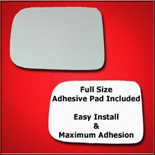 Mirror Glass Replacement + Full Adhesive For 81-94 B150, B250, B350 Driver Side
