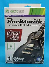 X Box 360 Rocksmith 2014 All-New Edition Sealed in Box