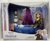 Disney Store Anna Classic Doll Adventure Play Set – Frozen 2 NEW