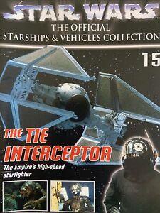 Star Wars Official Starships Collection DeAgostini TIE INTERCEPTER Model 15