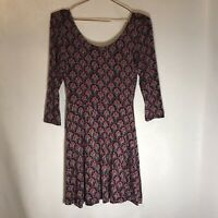 Express Woman's Purple, Pink, Grey Floral NWT Dress, Size  Small