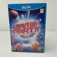 Game Party Champions Nintendo Wii U Game No Manual Tested