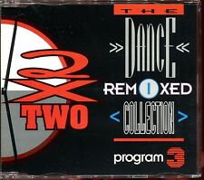 2 X TWO - THE DANCE REMIXED COLLECTION - REMIXES - PROGRAM 3 - CD MAXI [562]