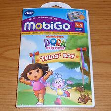 DORA the EXPLORER == VTech Mobigo, Mobigo 2, Mobigo Touch game == New, Sealed