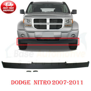 New Front Bumper Lower Valance Air Dam Black For 2007-2011 Dodge Nitro CH1090134