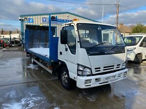Mitsubishi plant lorry, beaver tail.