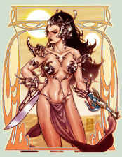 Dejah Thoris from Warlord of Mars Sexy Magnet # 16