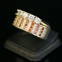 925 Sterling Silver Handmade Authentic Turkish Ruby Ladies Ring Size 9,10