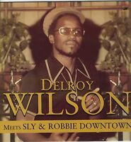 DELROY WILSON  Meets SLY & ROBBIE DOWNTOWN NEW VINYL LP £9.99