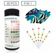 capetsma 9 in 1 Aquarium Test Strips, Best Kit for Water Quality Testing for.