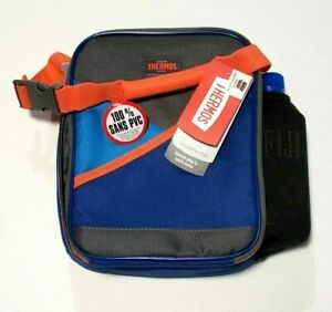 Thermos Insulated Lunch Bag Upright with Bottle Pocket BPA and PVC Free