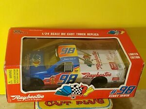 Racing Champions Kenny Irwin #98 Raybestos Nascar 1:24 Diecast Truck Series