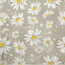 4x Paper Napkins -Daisies stone - for Party, Decoupage