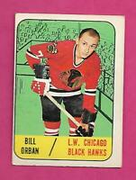 1967-68 TOPPS # 109 HAWKS BILL ORBAN ROOKIE EX CARD (INV# C6824)
