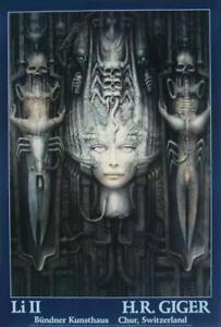 'Li II' fine art poster by H.R. Giger (Huge!)
