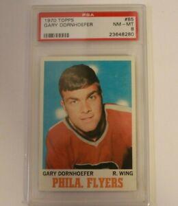 1970 Topps Gary Dornhoefer #85 PSA 8