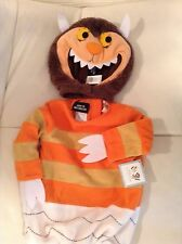 Pottery Barn Kids Where The Wild Things Are Halloween Costume 12-24 mo Fast Ship