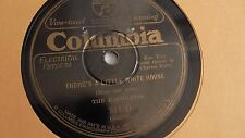 The Radiolites - 78rpm single 10-inch - Columbia Viva-Tonal #811-D There's A....