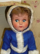 """15"""" Lilly Doll by Ratti in Box, Made in Italy, Great Coloring, Blue Flirty Eyes"""