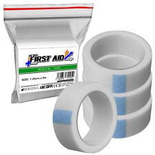 4 Pack - RE-GEN First Aid Micropore Medical Bandage Support Tape, 1.25cm x 5m