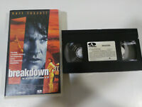 Breakdown Kurt Russell VHS Tape Collectors Spanish