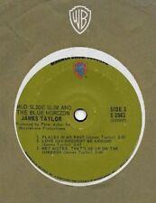 JAMES TAYLOR * 7 Inch Jukebox WB EP * 33 45* MUD SLIDE SLIM * SPECIAL COIN OP EP