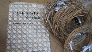 chair cane and how to booklet