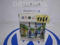 4 Spark Plugs Ignition New Longlife Original AUDI A6 80 VW Golf 2 Seat