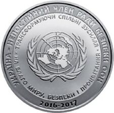 Ukraine - 5 Hryvnias Ukraine: Non-permanent Member of the U.N. Security Council