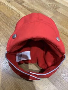 Polarn O Pyret Red Waterproof Boys Girls Hat, Size 52 Age 2-8 Years