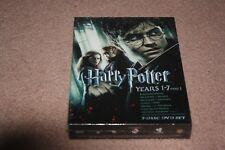 Harry Potter: Years 1-7, Part 1 (DVD, 2011, 7-Disc Set) *Brand New Sealed*