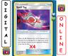 4x Spell Tag 190/214 Lost Thunder Pokemon TCG Online Digital