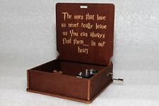 Never Leave Us Find Them In Our Heart - Harry Potter Music Box - Hand Crank