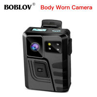 M852 Police Body Camera Dual Screens 1296P Night Vision Support File Protection