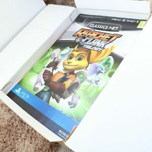 RATCHET & CLANK - TRILOGY - SONY PS3 GAME PROMO - DOUBLE SIDED - A2 POSTER