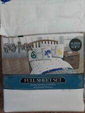 Harry Potter Sheet Set ~ NEW Full Size 4 Pc