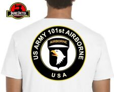 T SHIRT 101ème airborne US ARMY recto verso TAILLE S M L XL XXL TSHIRT