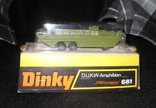 1972-77 Dinky #681 Amphibian Vehicle Sealed On Blister Pack