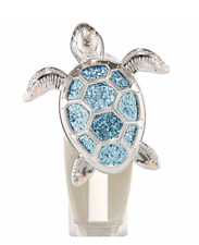 BATH & BODY WORKS GLITTERY SEA TURTLE NIGHTLIGHT WALLFLOWER FRAGRANCE PLUG IN