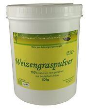 NUOVO: grano erba polvere, qualità bio da coltivazione tedesco, 500g