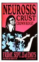 Neurosis Concert Poster Lindsey Kuhn