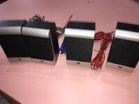 durabrand sa-sp9 surround sound speakers