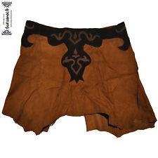 La edad media centímetro rock Jupe skirt cuero cuir LARP Gothic elfos Goa laursen Wicca
