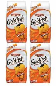 Pepperidge Farm Original Cheddar Goldfish Baked Snack Crackers 4 Bag Pack