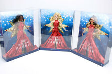 Barbie 2017 Holiday Doll Nikki Blonde Teresa Brunette African American Set of 3