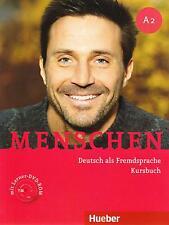 HUEBER Junger a2 Deutsch ALS fremdsprache Kursbuch mit Lerner DVD-ROM @new @