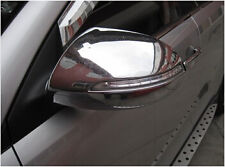 ABS Chrome Rearview Side Mirror Cover Trim For 2011 2012 Kia Sportage
