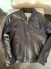 Banana Republic Men's Vintage Leather Jacket - X-Large, Dark Brown