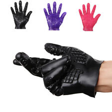 Five-finger Massage Gloves Adult Erotic Flirting Foreplay Tease Gloves Toy