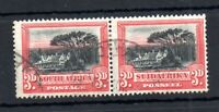 South Africa 1927-30 3d pair SG35 fine used WS19218